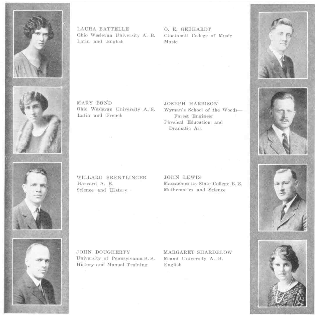 Oakwood High School Yearbooks 1923 1924 1926