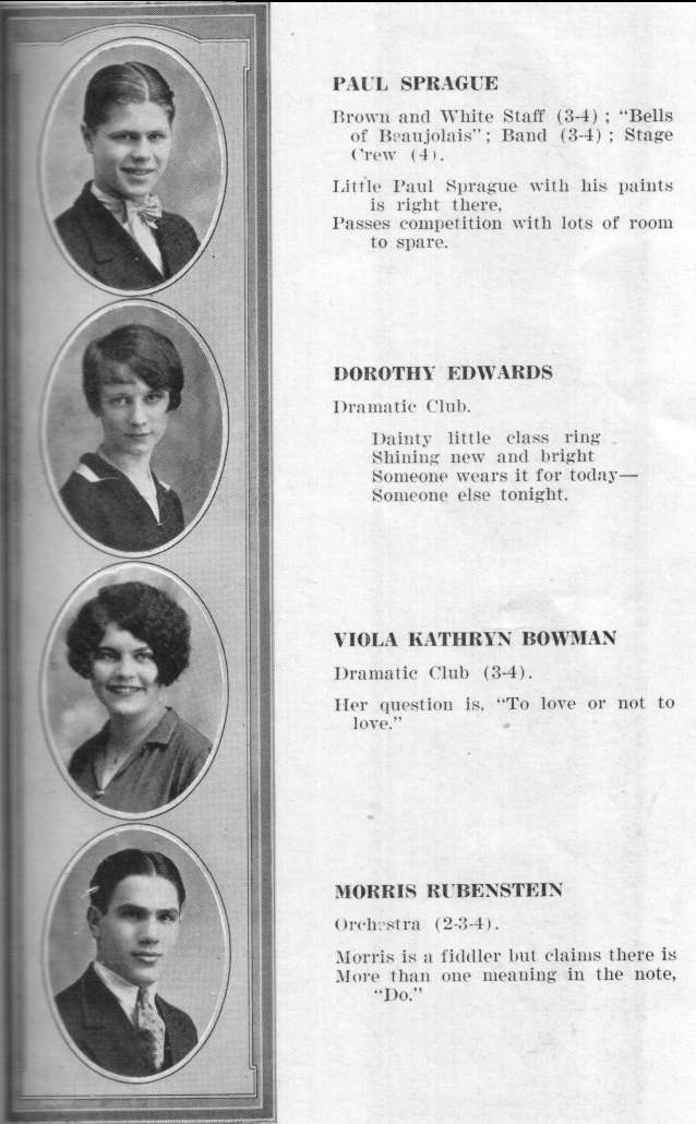 Greensburg High School 1927