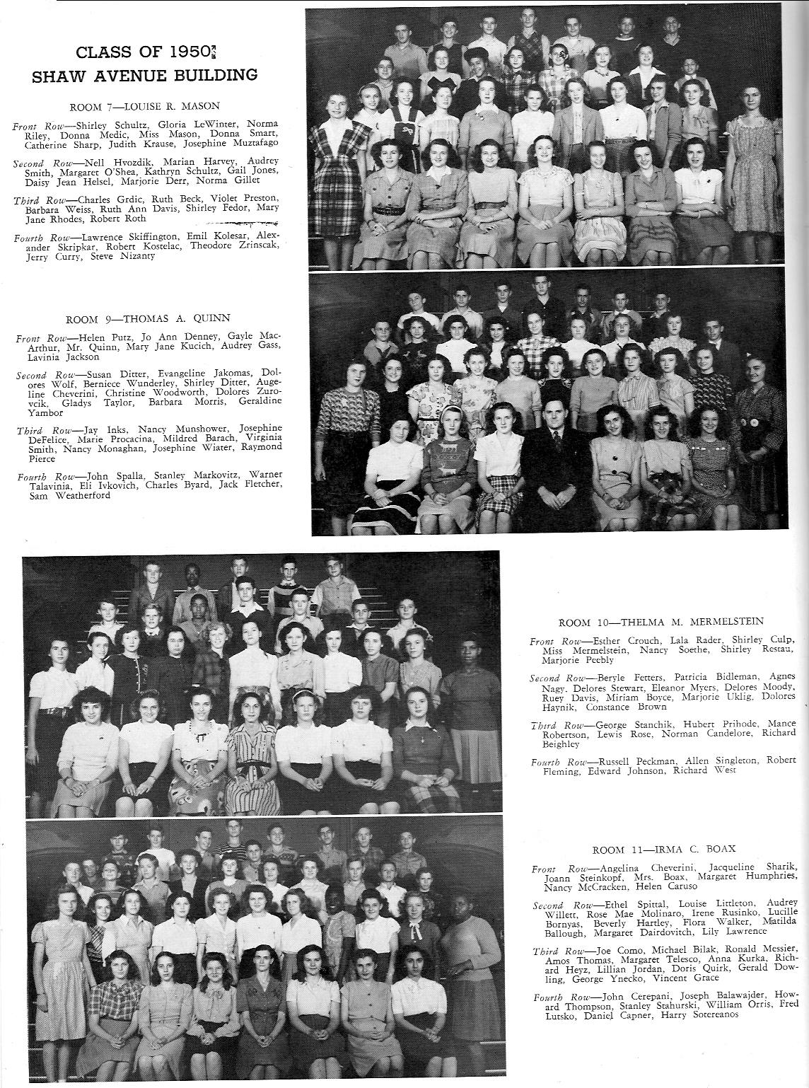 Yough-A-Mon - 1947 yearbook for McKeesport High School
