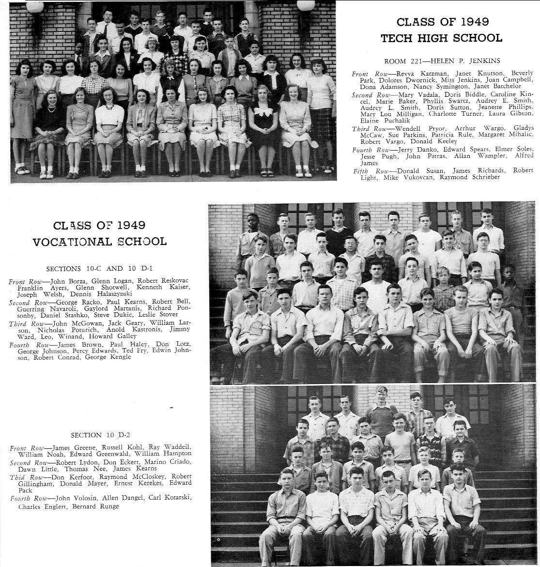 McKeesport High School - 1947 - Allegheny County, PA